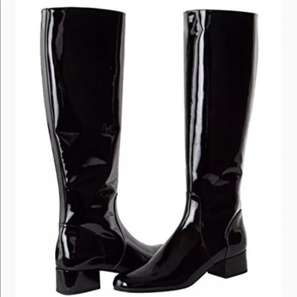 Yves Saint Laurent Shoes Nib Paris Babies Patent Boot Poshmark